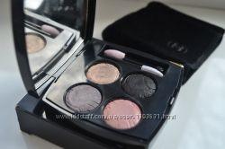 Тени 4-х цветные Chanel Ombres Tracees Jardin Zen Limited Edition