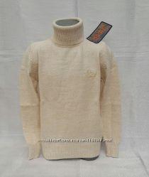 Вязаный свитер на мальчиков с отворотом Udi kids