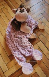Милый шарфик с помпонами