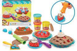 Акция Плей-Дох Игровой набор пластилина Ягодные тарталетки Play-Doh B3398