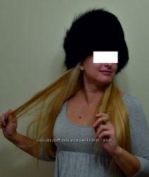 шапка дизайнерская мех писец