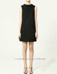 Черное платье, сарафан zara
