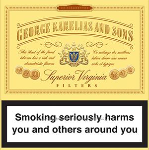 Сигареты george karelias and sons купить база где купить сигареты