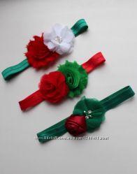 Новогодние эластичные повязки