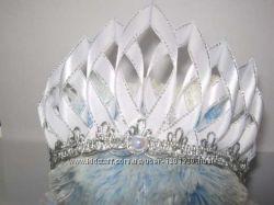 Сказочная корона снежной королевы