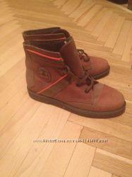Натуральные зимние ботинки