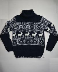 1d340314c7c32 Очаровательные свитерочки с оленями р. 122-140 для мальчиков и девочек