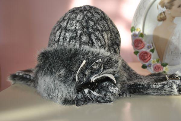 Зимняя шапка на девочку Trestelle, Италия