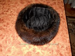 Продам мужскую натуральную норковую шапку