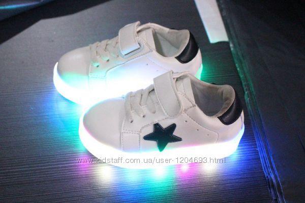 92ec7f6c4d3c00 Хіт сезоу Кросівки з підсвіткою детские led светящиеся кроссовки, 435 грн.  Детские кроссовки, кеды - Kidstaff | №22227240