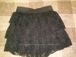 Черная юбка, юбка школьная