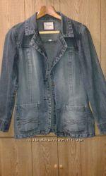 Джинсовая курточка-пиджак