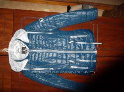 осенняя куртка но подойдет и на  теплую зиму, наполнитель сентипон, у испо