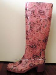 Camomilla резиновые сапоги розы италия сток