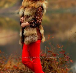 Жилетка з лисиці