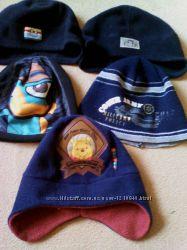 флисовые деми шапочки