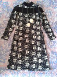 Платье женское теплое, размер 42