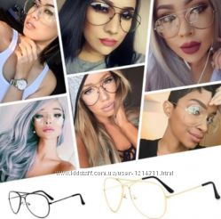 Шикарные имиджевые очки оправа  для очков в наличии