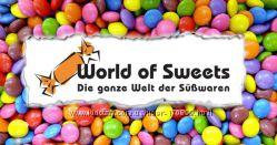World of sweets сладости из Германии Worldofsweets