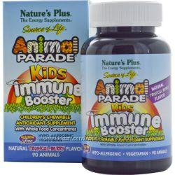 Детские витамины для защиты иммунитета со вкусом тропических ягод, 90шт США