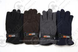 Теплые перчатки World Blue из двойного флиса