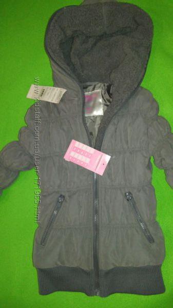 Теплая куртка Глория джинс р. 116