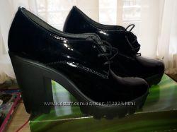 Новые туфли 37р натуральная кожа