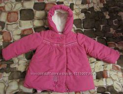 Куртка MOTHERCARE на 9-12 месяцев плюс подарочек