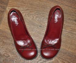 Туфли кожаные Faith оригинал р. 37 по стельке 23, 5см