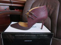 Туфли кожаные Nine West, p-p 38, по стельке 24 см
