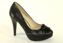 Туфли на платформе KAMEngsi black, р. 35-40