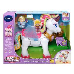 Интерактивный единорог vtech с принцессой лошадка замок