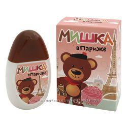 Positive Parfum, Мишка в Париже, 50 мл, Душистая вода для детей