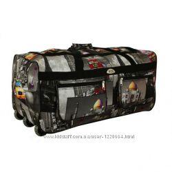Сумка чемодан дорожная на колес большая 110л. Польша