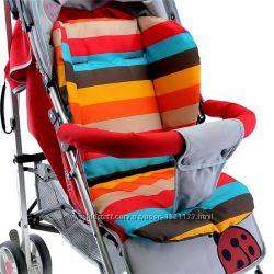 Матрасик детский в коляску, стульчик