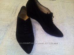 Женские туфли натуральный замш  LLOYD