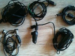 Оригинал зарядные устройства и наушники от Motorola и Samsung