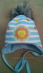 Тёплая шапочка детская мальчикам  р. 44-48 новые в наличии