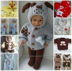 Детские одёжки-игрушки для малышей и школьников под заказ