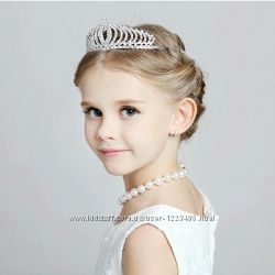 Корона, диадема веточка обруч для девочки, принцесса  Эльза, София