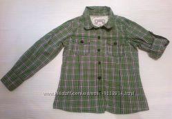 Old Navy США. Рубашка-батник в клетку, на девочку 4-5 лет