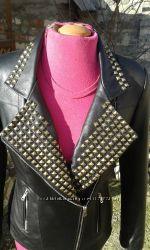 Шикарная куртка из натуральной кожи