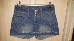 Джинсовые шорты blue behaviour only