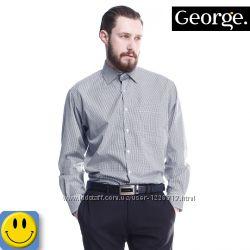 Рубашка George р. S - M, ворот 37 см.