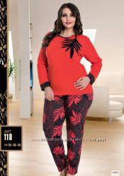 Пижамы женские большие размеры