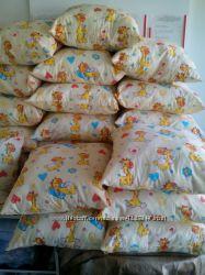 Чистим подушки детским садикам