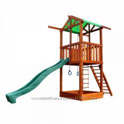 Funny Games mini детская игровая площадка, комплекс горка, качели, песочни