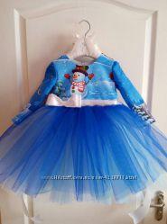 Платье новогоднее от 1 до 11 лет