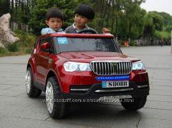 Детский электромобиль BMW S8088 М 3107 кожаное сидение, 4х45W