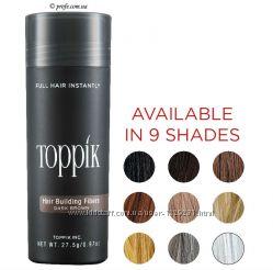 Камуфляж для волос Toppik маскировка залысин при выпадении волос